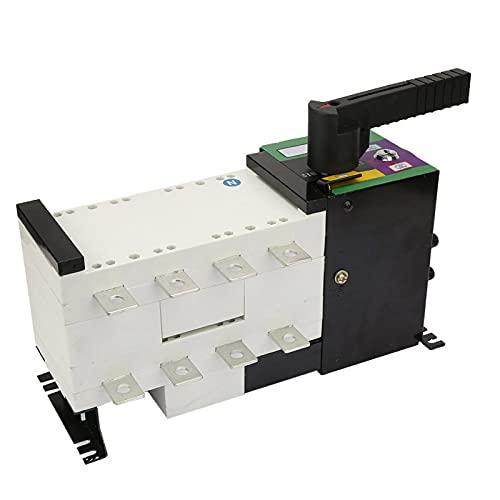 Interruptor de conmutación, disyuntor de tamaño pequeño de alta precisión 250A 4P para lugares de suministro de energía para electricidad