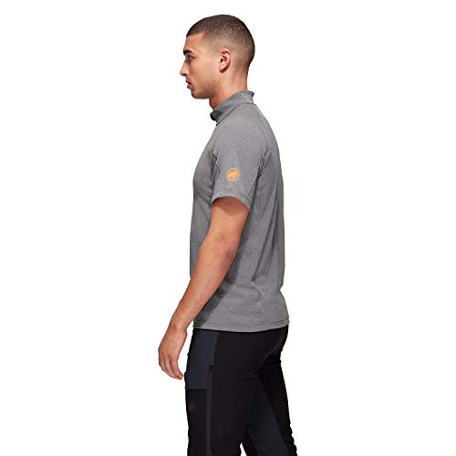 Mammut Camiseta de Manga Corta Modelo Camiseta AEGILITY Half Zip Hombre Marca