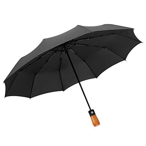 Paraguas automático d6 Toallas de Mano, 1, Azul, Middle