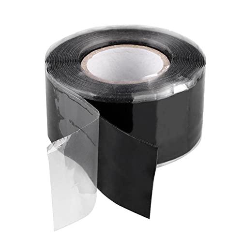 POHOVE Cinta de silicona autofusible de 10 pies, cinta de silicona autofusible,...