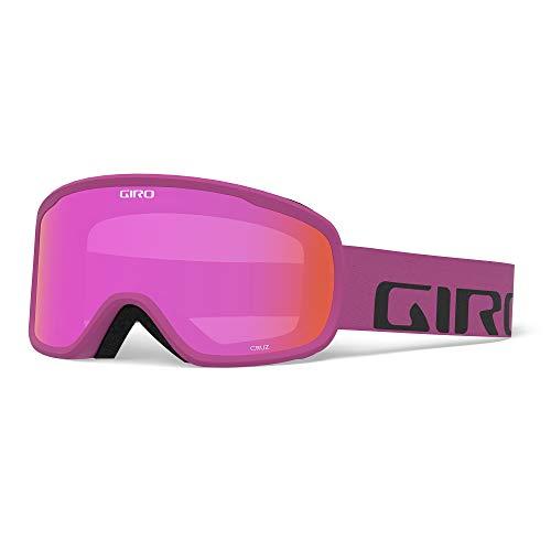 Giro Herren Skibrille CRUZ, berry wordmark, One Size, 300062-005