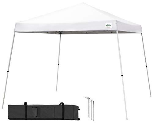 Caravan Global Sports 21207800010 Kit auvent série V 2 3,65 x 3,65 m - Blanc