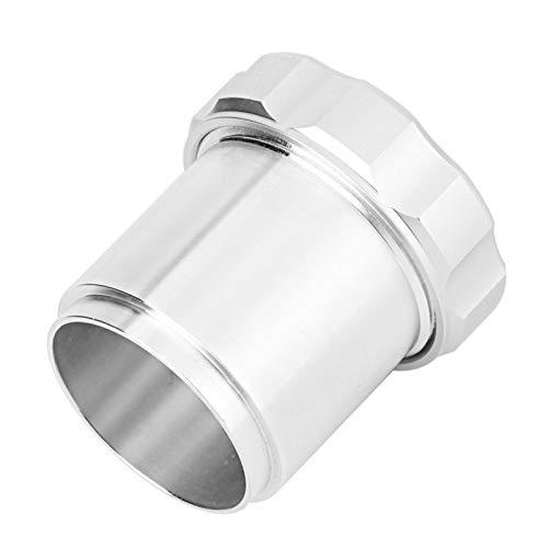 Cuello de llenado, aleación de aluminio soldada en el tanque de aceite Cuello de llenado con tapa 1.5 '' 1 1/2 '' OD para tanques de combustible