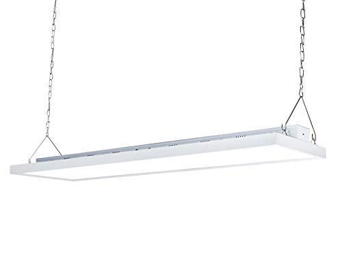 Parmida 4FT LED Linear High Bay Shop Light, 225W, 130LM/W, 0-10V Dimmable, Commercial Industrial Warehouse Area Lighting, 5000K, Hanging Chain Included, UL-Listed & DLC 4.2 Qualified