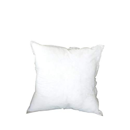 FHC hasta Cojines de Base de algodón Amortiguador Cama PP, la decoración 45x45 cm sofá Amortiguador del Coche Blanco,1 PC