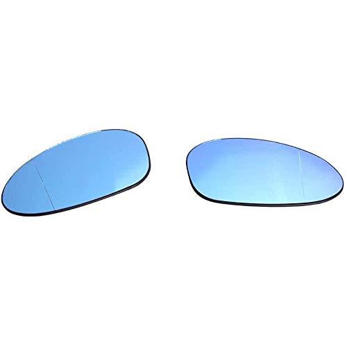 Espejo de puerta de ala derecha Lado Del Conductor Cristal Para Nissan Note 2004-2012 pegar en