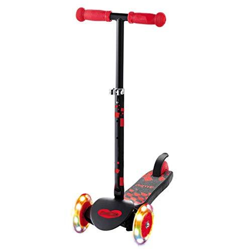 LZL Roller für Kinder Mager, um Kids-Roller mit Einstellbarer Höhe, Kleinkind-Roller mit erweiterten...