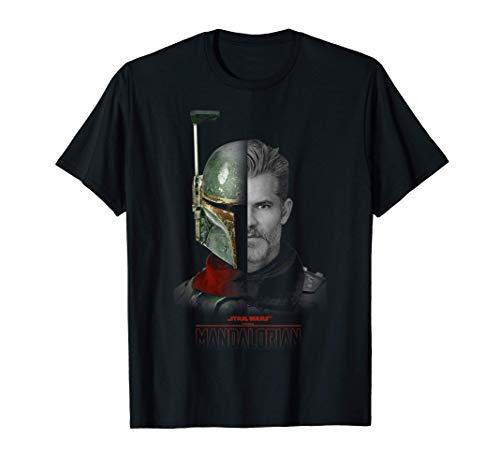 Star Wars: The Mandalorian The Marshal Split Face T-Shirt