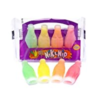 Nik-L-Nip Wax Bottles Candy Drinks 輸入品 ニックルニップ ワックスボトルキャンディ4個入り(39g X 2袋) 韓国モッパンASMR YouTube