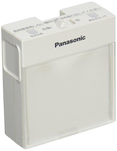 パナソニック(Panasonic) 明るさセンサ付ハンディホーム保安灯 ホワイト WTF4088W