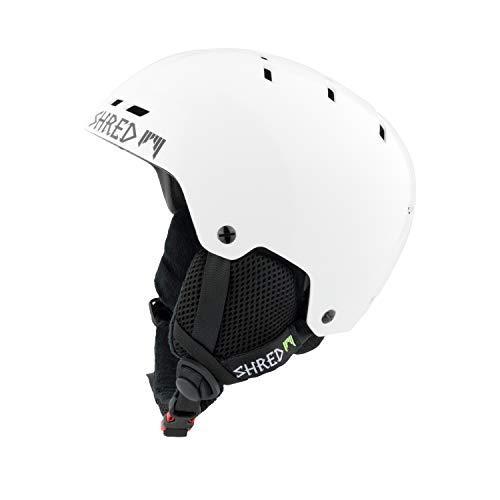 SHRED Helm Bumper Whiteout Skihelm, White, S