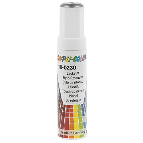Dupli-Color 606038 Lackstift Auto-Color Silber metallic 10-0230 12ml, Silver