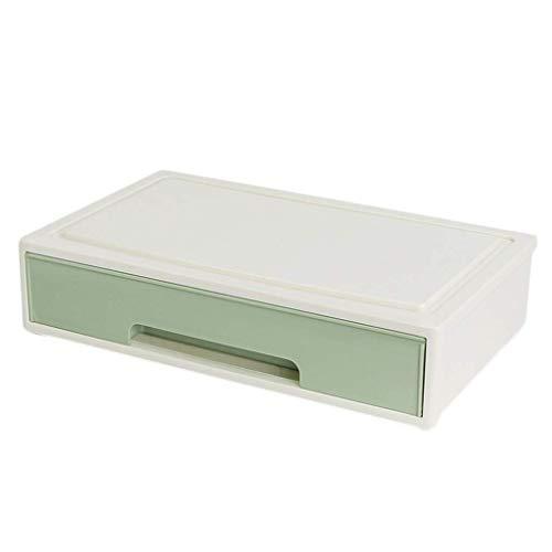 BOX Empilables Cosmétiques Boîte de Rangement En Plastique Type de Tiroir Rouge À Lèvres Soin de Peau Stockage Vitrine,B