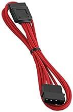 CableMod ModFlex Molex to SATA Power 45cm (Red)