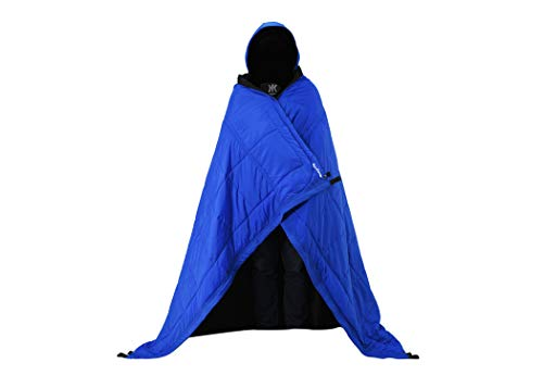 Kijaro Kubie Versatile, Multi Use Outdoor Product Configuring into a Hammock, Sleeping Bag, Poncho, Blanket, Shade Canopy for Camping, Travel, and Sideline Sport Games, Maldives Blue