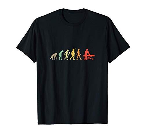 Fisioterapeuta Evolución Regalo Vintage Fisioterapia Camiseta