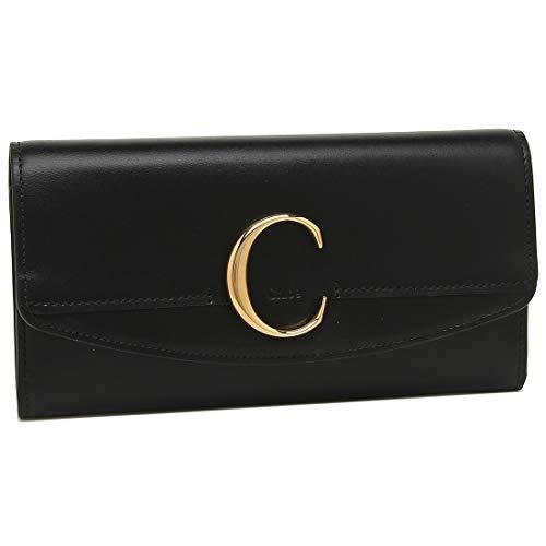 [クロエ]長財布 レディース CHLOE CHC19SP055A37 001 ブラック [並行輸入品]