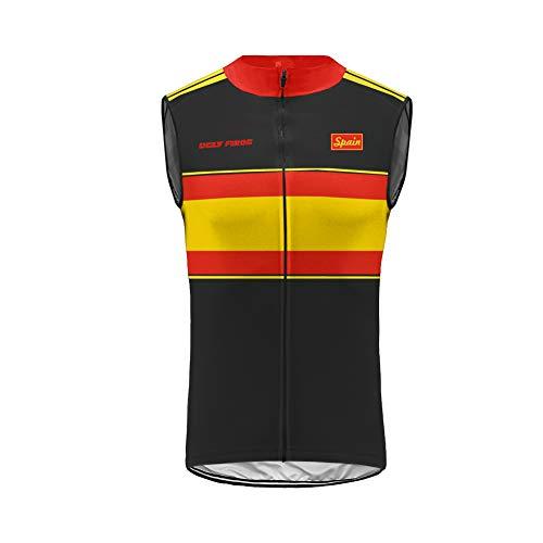 BurningBikewear Uglyfrog Windstopper Light - Chaleco Cortavientos de Ciclismo Hombre MES2019MJ09