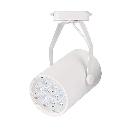 12W Led Blanco Foco De Pared Para El Dormitorio (Luz Cálida), 180 ° Cabeza De Foco Ajustable, Led Solo Foco Para Cocina, Lámpara De Pared De Foco Led