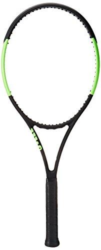 WILSON Blade 104 Raquette de Tennis Mixte Adulte, Noir