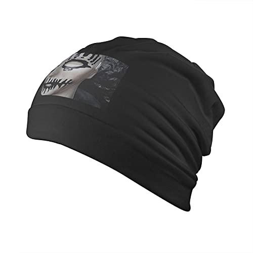 CHENRU Joey Jordison - Gorro unisex para adultos, pasamontañas, medio pasamontañas, color negro, Negro, Talla única