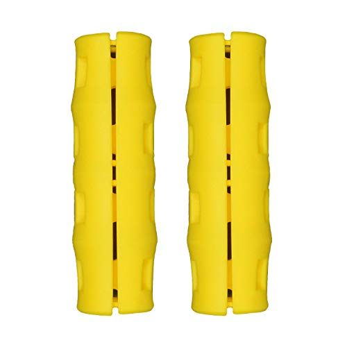 Snappy Grip Yellow Ergonomic Replacement Bucket Handles 2 Pack