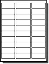 MFLABEL Sheets 30-UP Easy to Peel Address Labels 1