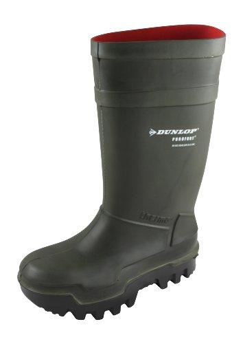 Dunlop Sports Dunlop Purofort Thermo-Sicherheits-Gummistiefel, Größe 42