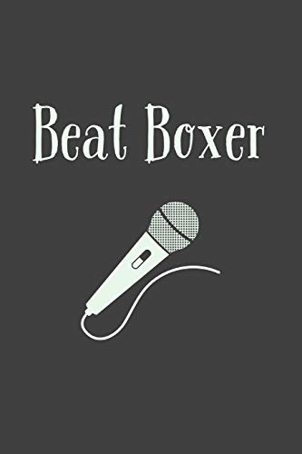 Beat Boxer: Lined Journal - Beat Box Present Idea