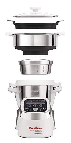 Set Moulinex HF802AA1 Cuisine Companion Robot Multifunzione + XF3831 Taglia Verdura