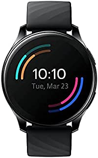 OnePlus Watch - Bluetooth 5.0 Smart Watch with 14 days battery life and 5ATM + IP68 Water Resistance- Midnight Black