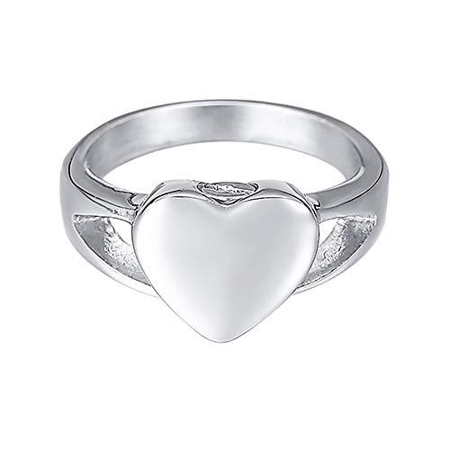 [ホーアムアイ]HooAMI 遺骨指輪 メモリアルリング ステンレス レディース 指輪 ハート 手元供養 遺灰 納骨ジュエリー 日本サイズ11号