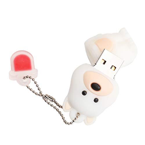 Desconocido Generic Unidad Flash USB de 128GB / 64GB / 32GB / 16GB / 8GB con Forma de Perro Memory Stick U Disk - 16GB