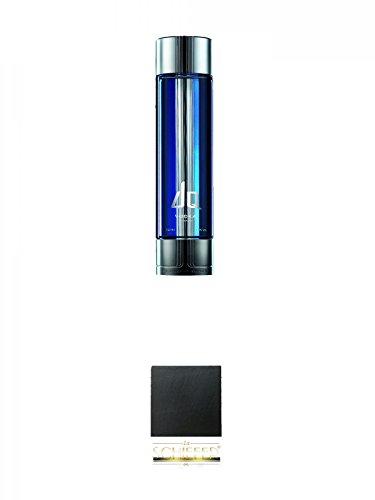 DQ Vodka 1,0 Liter + Schiefer Glasuntersetzer eckig ca. 9,5 cm Durchmesser