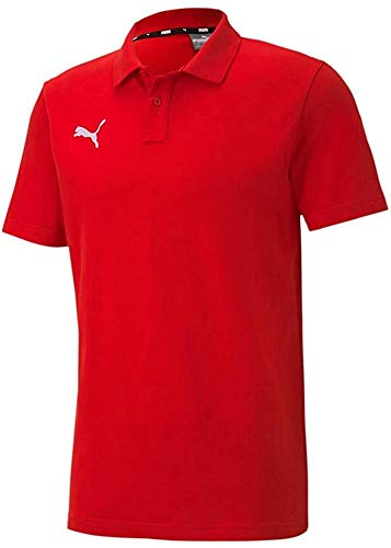 Puma Herren teamGOAL 23 Casuals Polo Poloshirt, Red, XXL