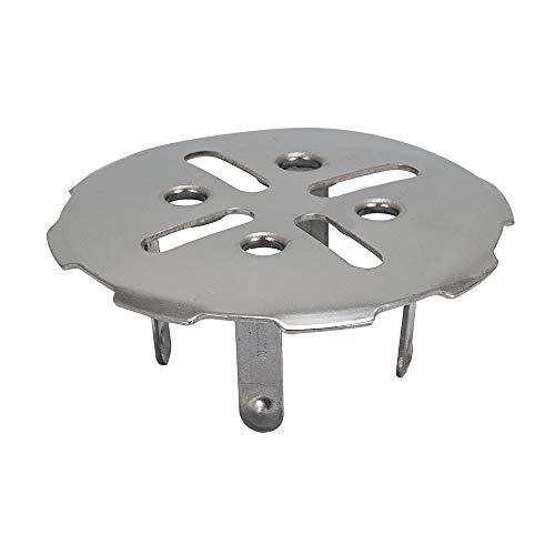 EZ-FLO 43470 Stainless Steel Floor Drain Cover for 2 inch Pipe, 3 OD, White