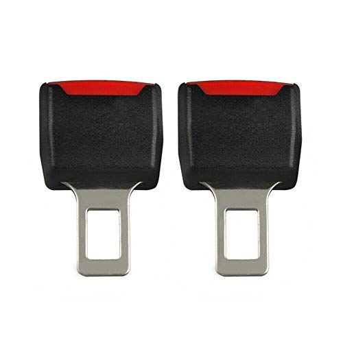 2Car Safety Seat Belt Buckle Extension Extender Clip Alarm Stopper Universal