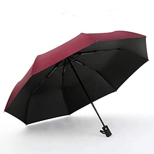SHUMEISHOUT Paraguas Plegable Paraguas automático Grande Doble a Prueba de Viento, Hombres...
