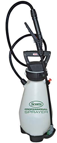Scotts 190567 Lithium-Ion Battery Powered Pump Zero Technology Sprayer, 2 Gallon, White