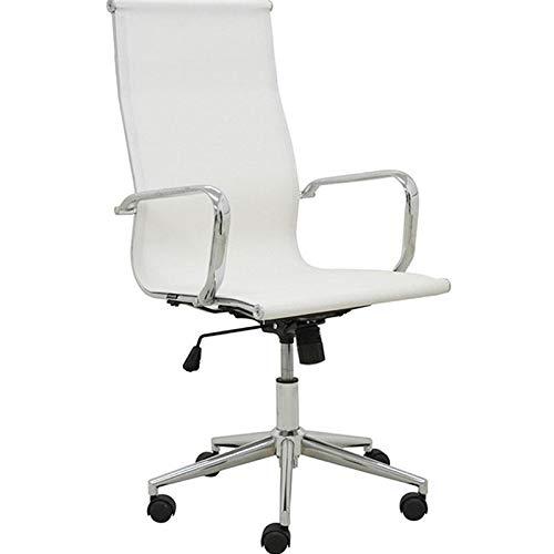 Cadeira de Escritório Office Sevilha Alta Rivatti Branco