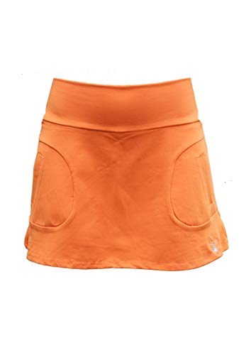 La Mouche Padel Falda Modelo básico Naranja (XL)