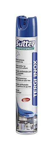Sutter Professional Tergi Inox Pulitore Lucidante per acciaio, 500 ml