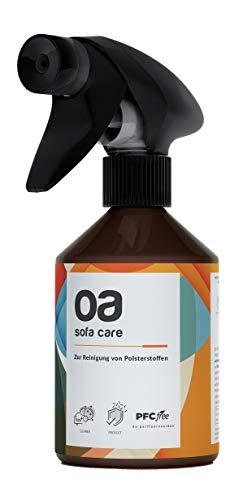 OA Sofa Care Polsterreiniger Sofa (250ml) - 100% PFC frei und vegan - Sofa Reiniger für effektive Reinigung von Flecken und Verunreinigungen - Teppichreiniger & Textilreiniger Teppich, Autositz etc.