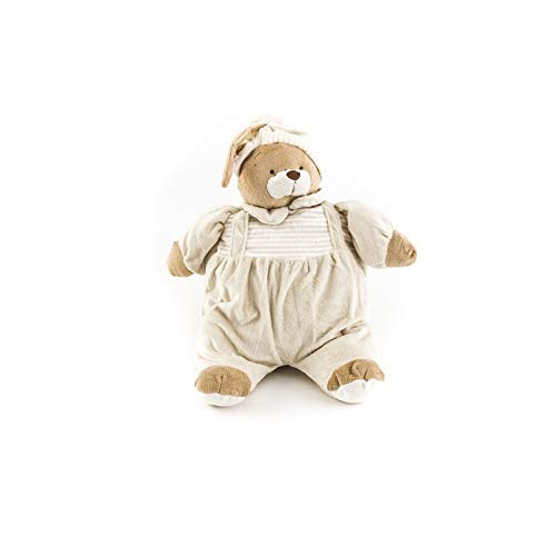 Duffi Baby- Peluche Porta Pijama, 100% Poliéster, Color Natural (Master Baby Home, S.L. 4101-05)