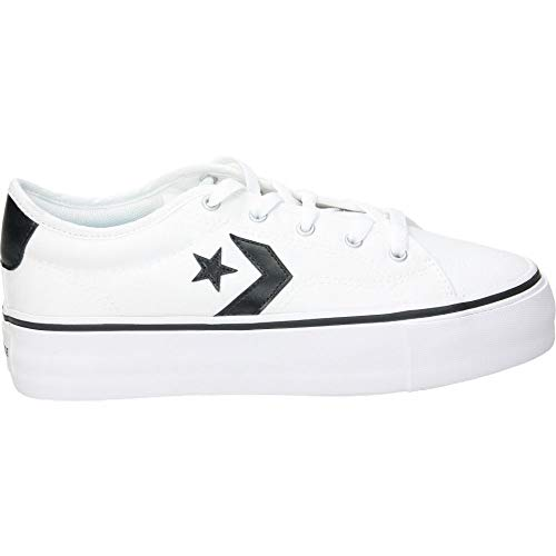 Zapatilla Converse Star Replay Platform Blanco 565365C