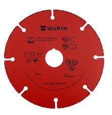 Würth 667410112 DISCO-TAGLIO-HM-2,0-FORO 22,2- D.115MM