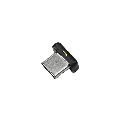 Yubico YubiKey 5C Nano Two Factor Authentication Security Key - Black - USB-C