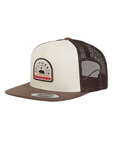 Rip Curl Destination Patch Trucker Hat - Brown