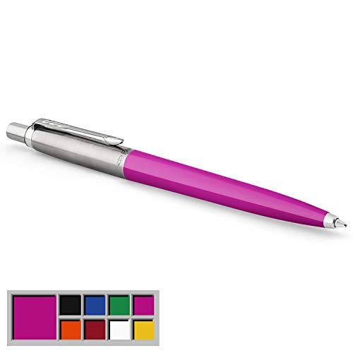 Parker Jotter Originals Kugelschreiber | Klassisches Magenta | Mittlere Spitze | Blau Tinte