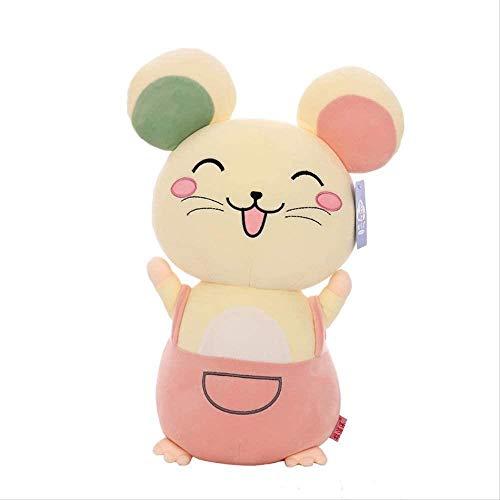 Ratón Peluche Juguete Peluche Animal muñeca Almohada Regalo de cumpleaños para niños (Color : 60cm)